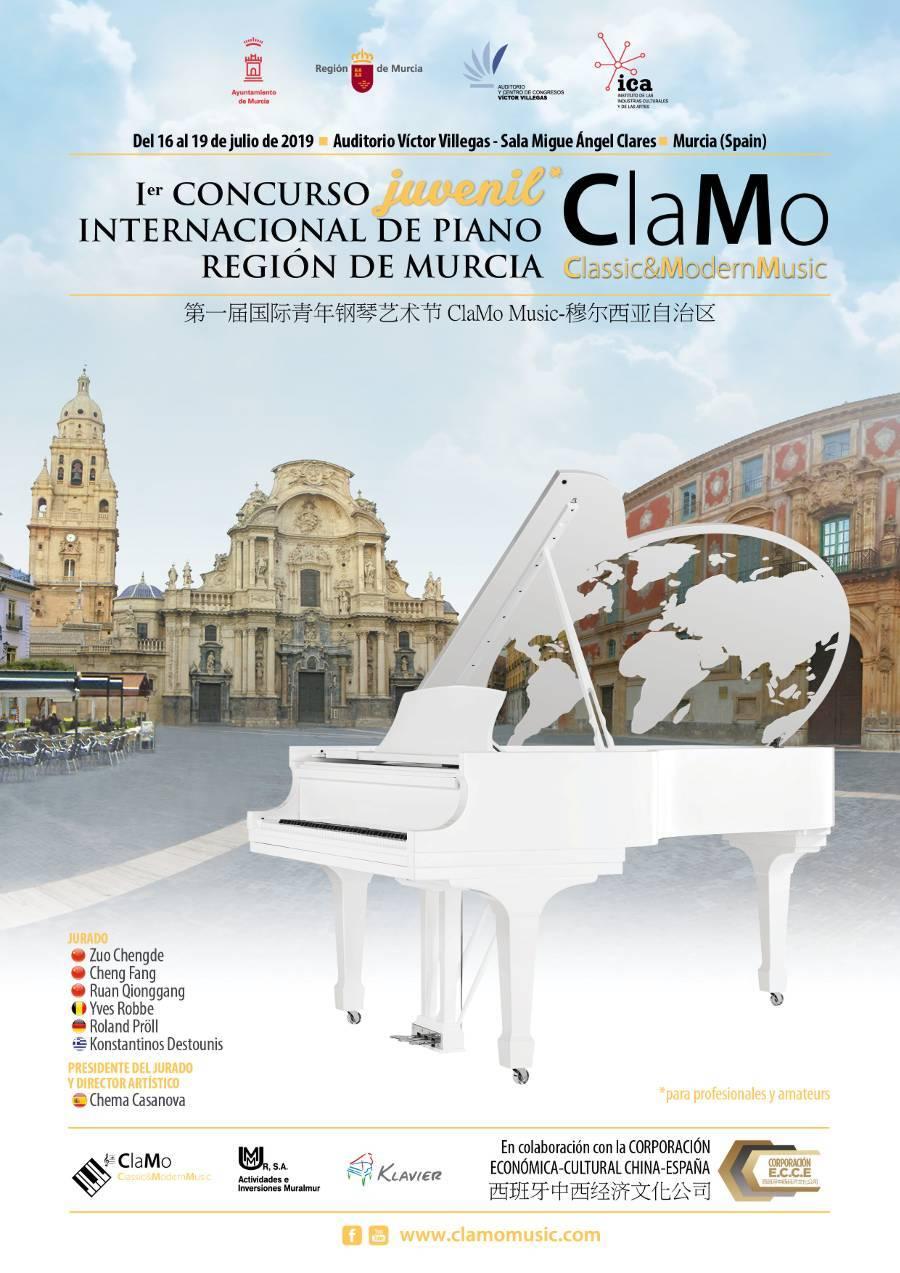 Concurso Juvenil Internacional de Piano Clamo Music